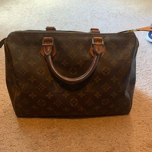 Louis vuitton bowling bag